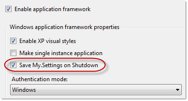 Easily Save and Retrieve Application and User Settings in VB